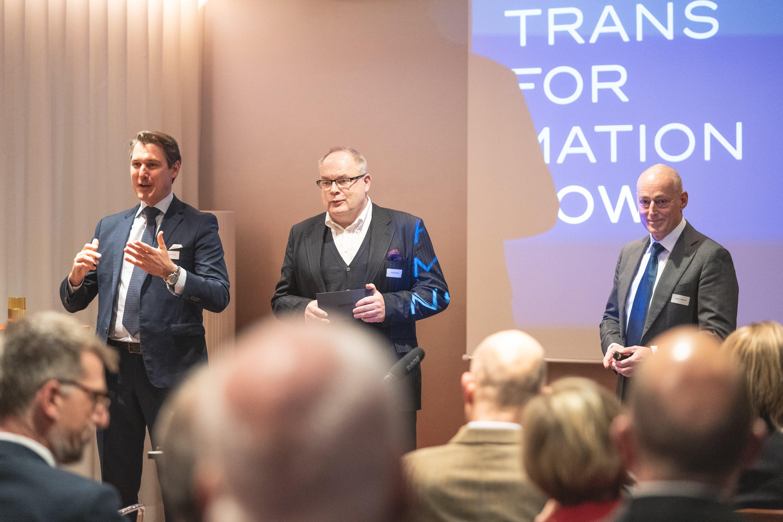 Philippe Piscol, Uwe Köstens und Martin Hammer